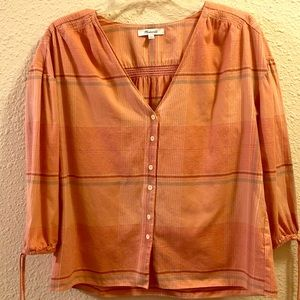 Madewell V-Neck Blouse